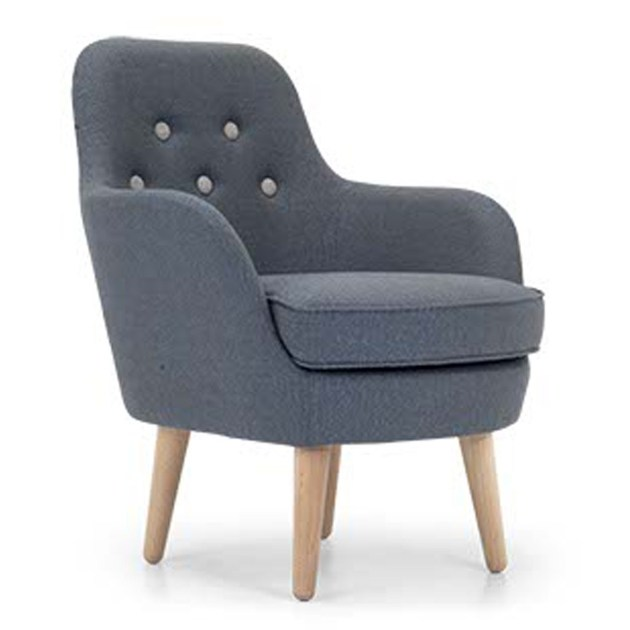 Upholstered fabric armchair CORNELL LARGE by Domingo Salotti