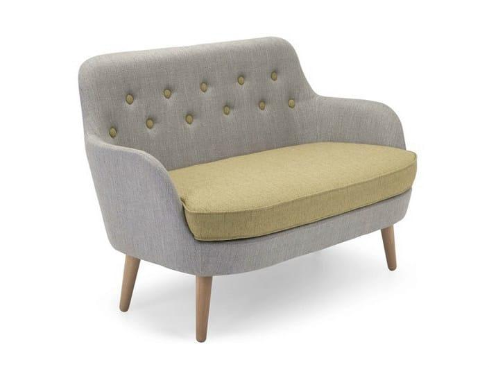 Fabric small sofa CORNELL | Small sofa by Domingo Salotti