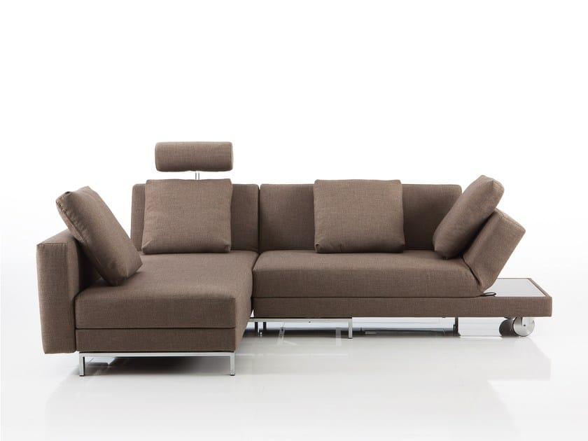 Corner fabric sofa FOUR-TWO   Corner sofa by brühl