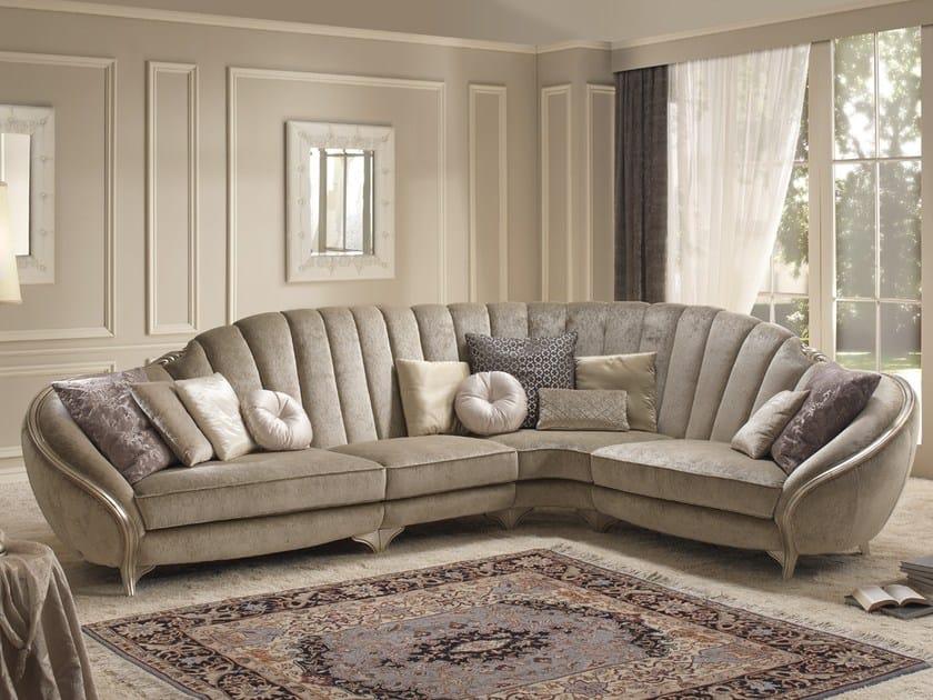 Corner fabric sofa PARADISE | Corner sofa by Gold Confort
