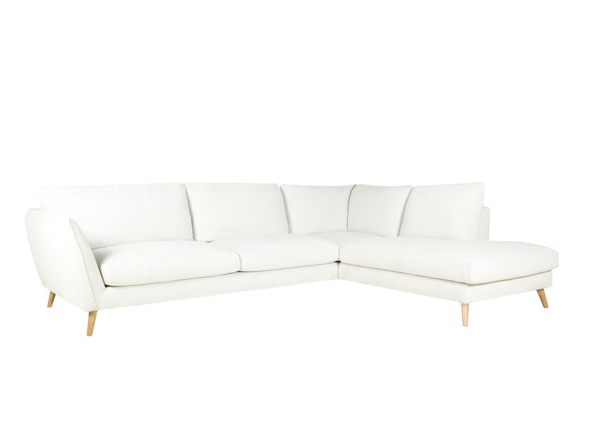 5 seater corner upholstered fabric sofa STELLA | Corner sofa by SITS