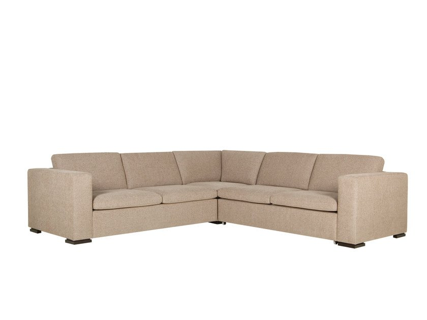 Corner sectional 4 seater fabric sofa VARIO | Corner sofa by SITS