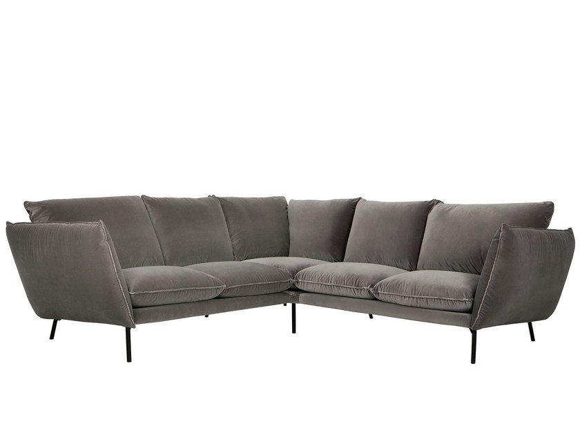 Corner fabric sofa HUGO | Corner sofa by SITS