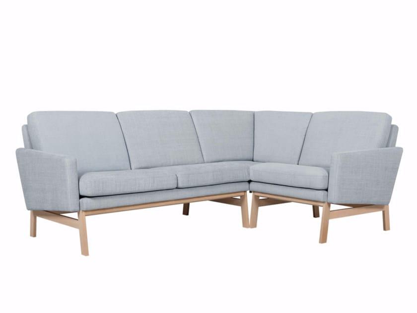 Corner fabric sofa FINE | Corner sofa by Sits