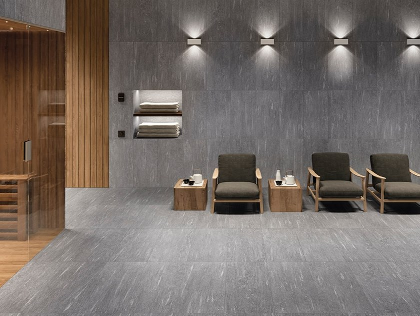 Porcelain stoneware wall/floor tiles with stone effect CORNERSTONE ALPEN by Ergon by Emilgroup