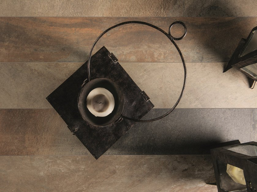 Indoor/outdoor porcelain stoneware wall/floor tiles CORNERSTONE SLATE MULTICOLOR by Ergon by Emilgroup