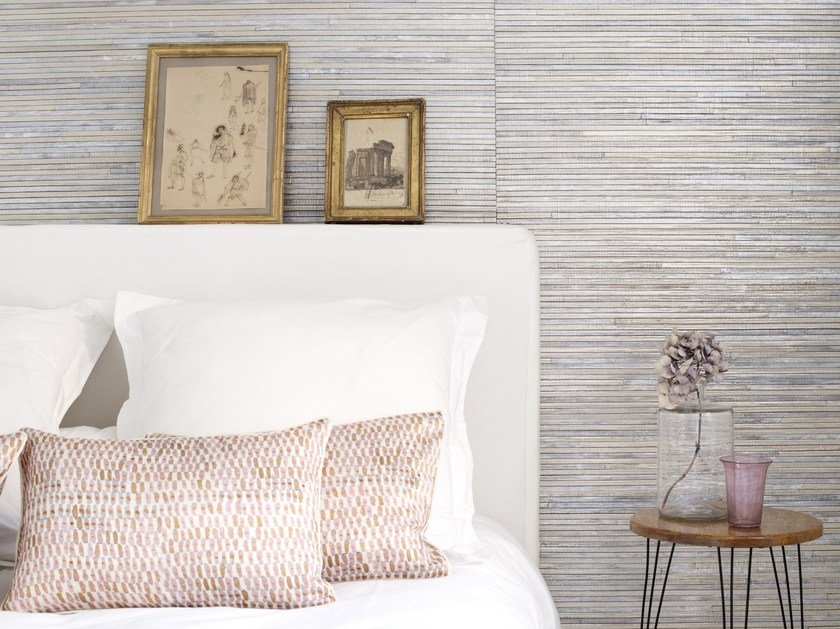 Indoor nonwoven wall tiles CORON by Élitis