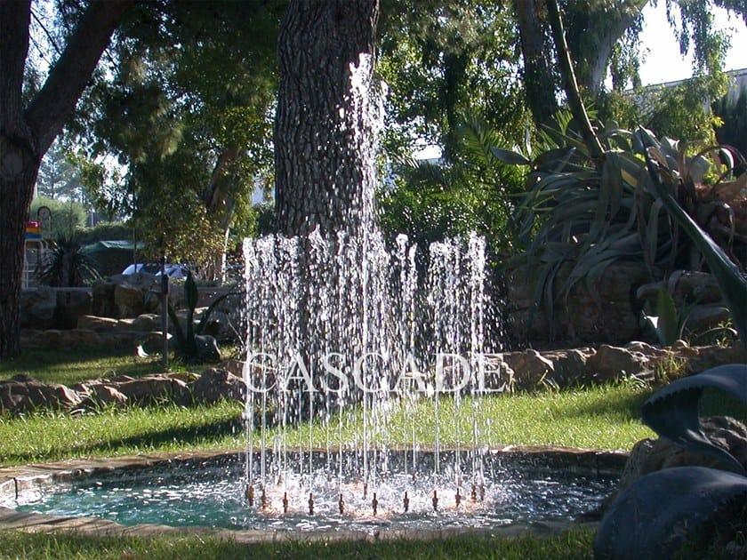 Brass Fountain nozzle CORONA by CASCADE