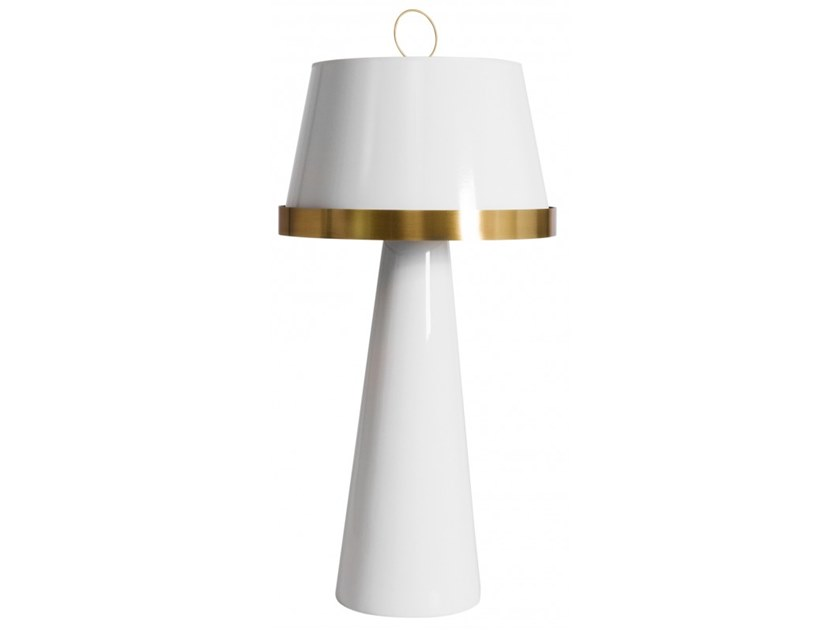 Ceramic table lamp CORSETTO by Flam & Luce