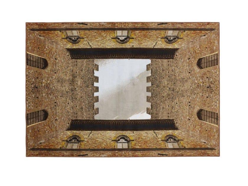 Rectangular velvet rug COURTYARD by Opinion Ciatti