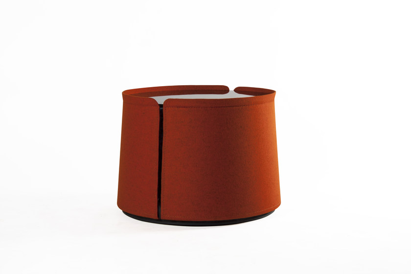 Round glass side table CORUM | Coffee table by ROCHE BOBOIS