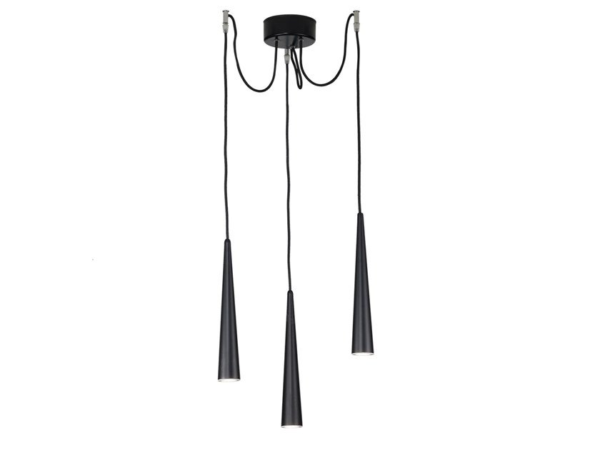 Metal pendant lamp CORVINA | Pendant lamp by Rossini Illuminazione
