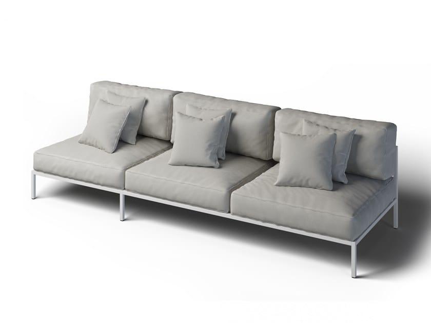 3 seater garden sofa COSI | 3 seater garden sofa by Laubo