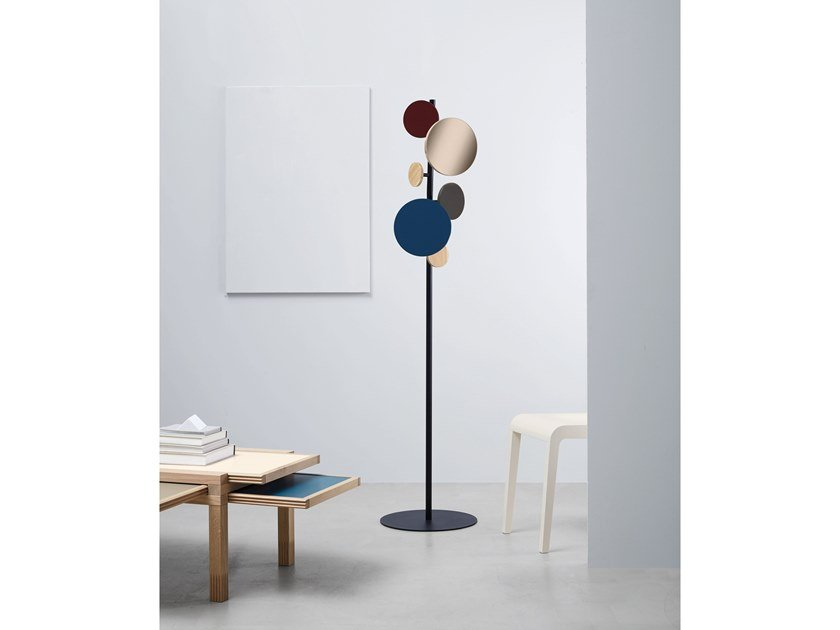 Solid wood coat stand COSMICO | Coat stand by SCULPTURES JEUX