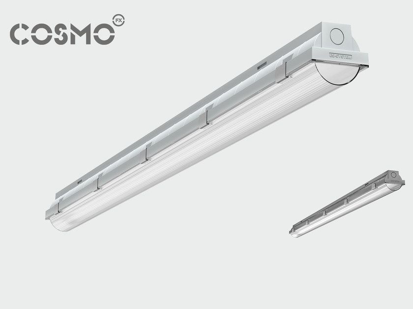 Polycarbonate ceiling lamp COSMO APEX by ES-SYSTEM