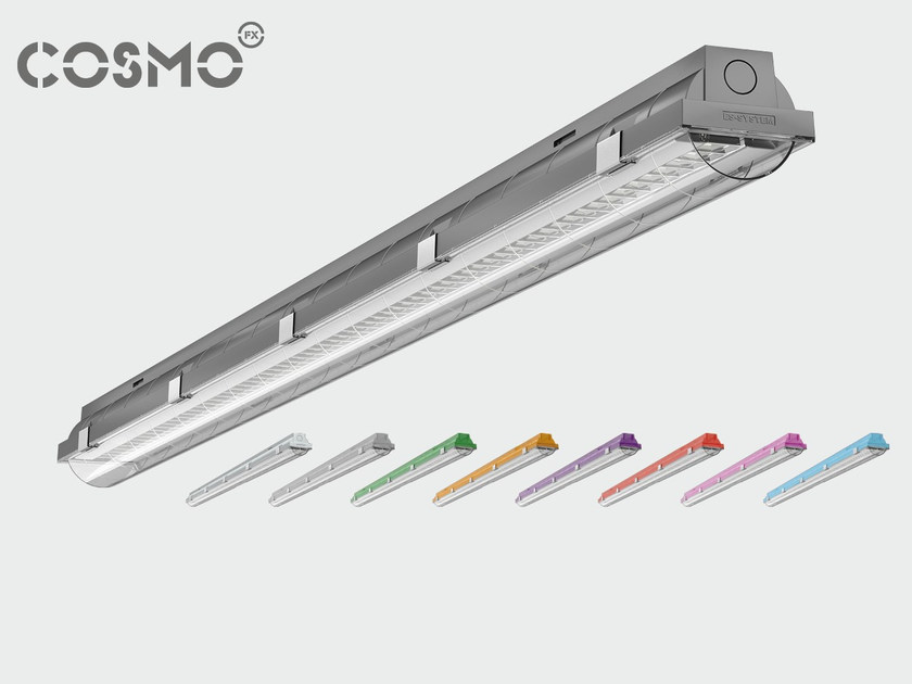 Polycarbonate ceiling lamp COSMO ECLIPSE by ES-SYSTEM