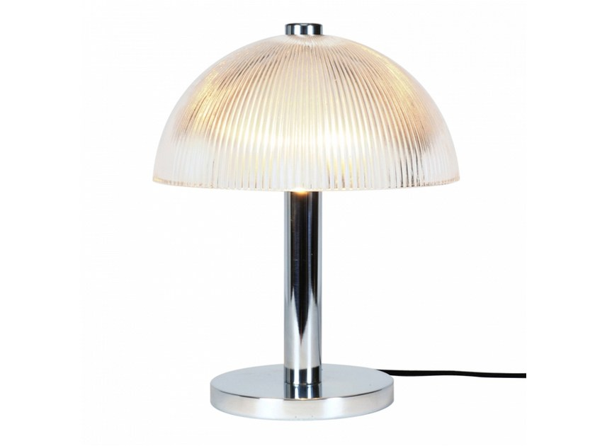 Glass table lamp with fixed arm COSMO PRISMATIC | Table lamp by Original BTC