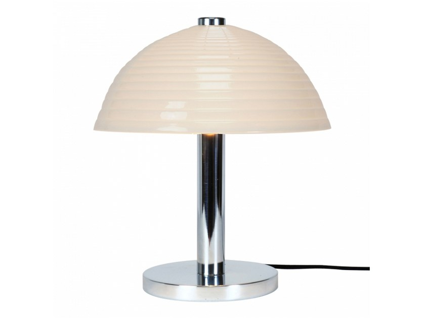 Porcelain table lamp with fixed arm COSMO STEPPED | Table lamp by Original BTC