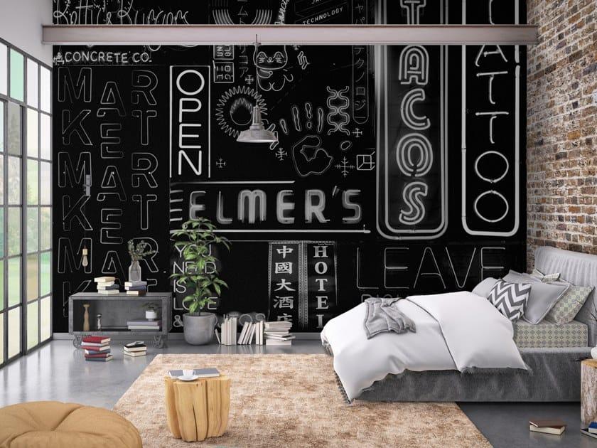 Pop art vinyl wallpaper COSMOPOLITAN by Baboon