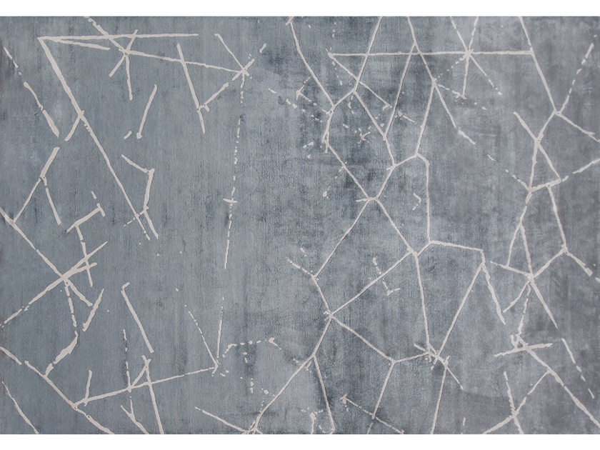 Handmade rug COSMOS STORMY by EDITION BOUGAINVILLE