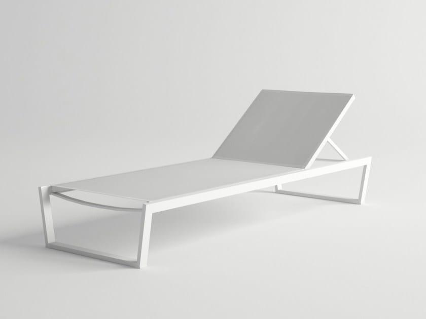 Recliner aluminium garden daybed COSTA | Garden daybed by 10Deka