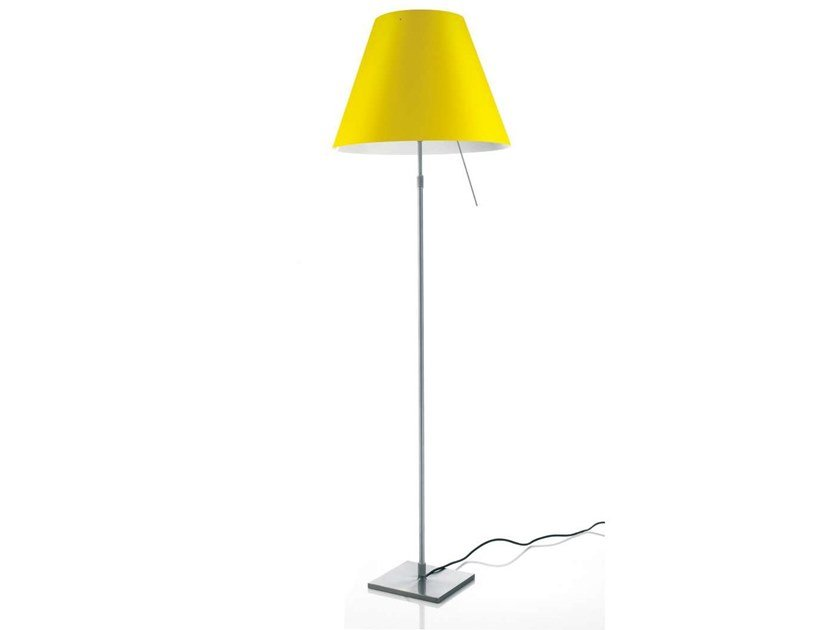 LED polycarbonate floor lamp COSTANZA LED | Floor lamp by LUCEPLAN