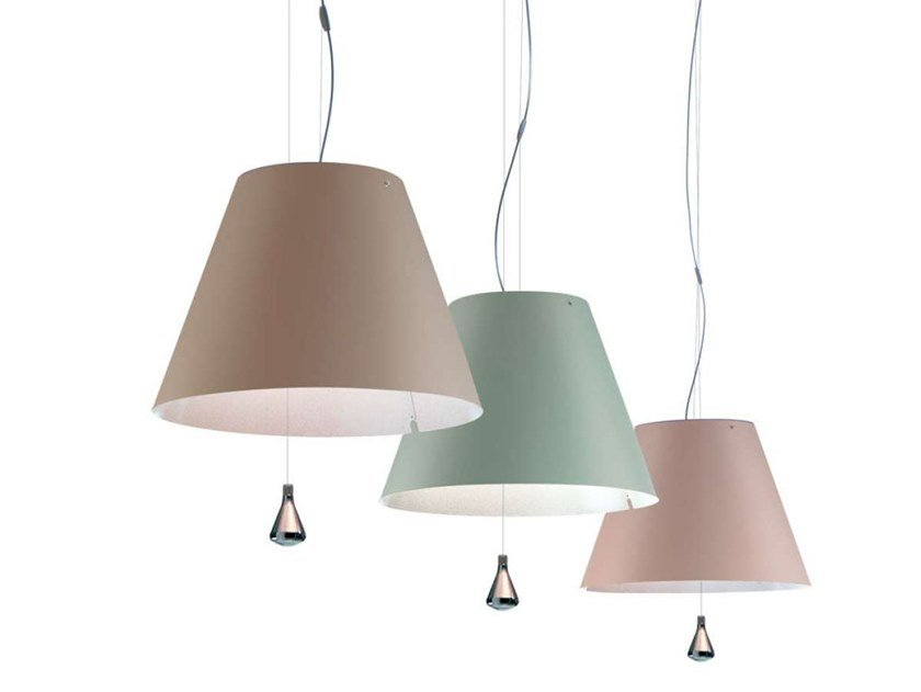 LED adjustable polycarbonate pendant lamp COSTANZA LED | Pendant lamp by LUCEPLAN