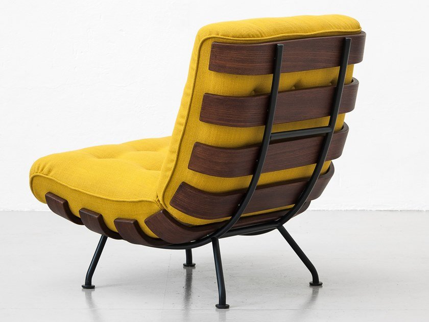 Fabric armchair COSTELA by Tacchini