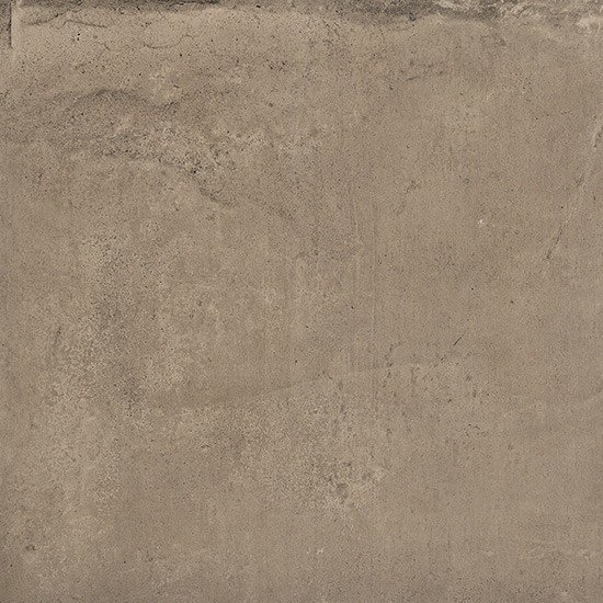Porcelain stoneware flooring with concrete effect COTTOCEMENTO BROWN by Ceramiche Coem