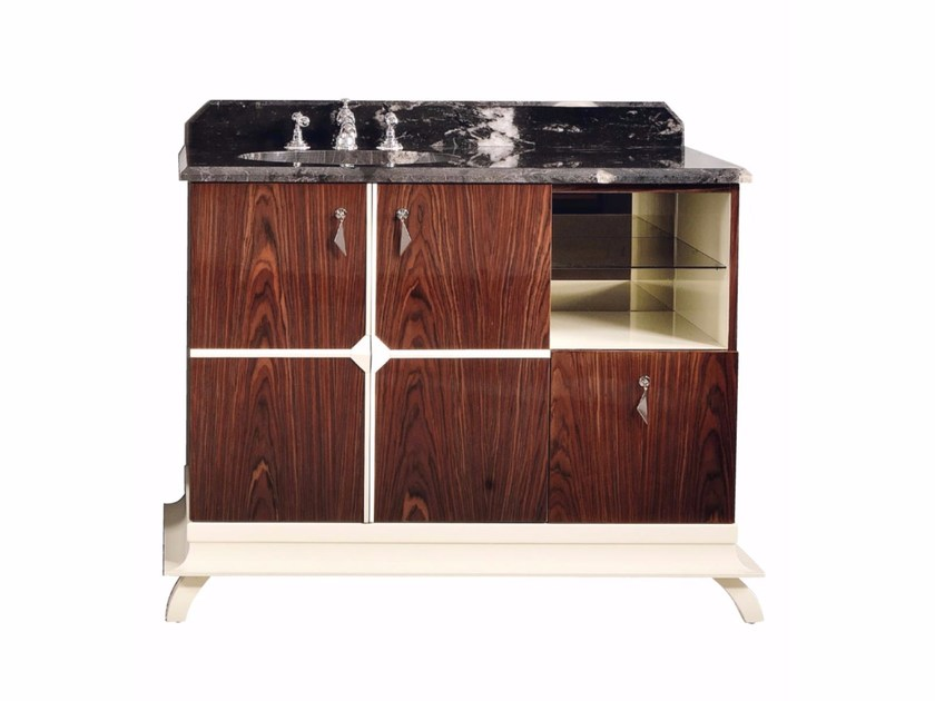 Single marble vanity unit COTTON CLUB | Single vanity unit by GENTRY HOME