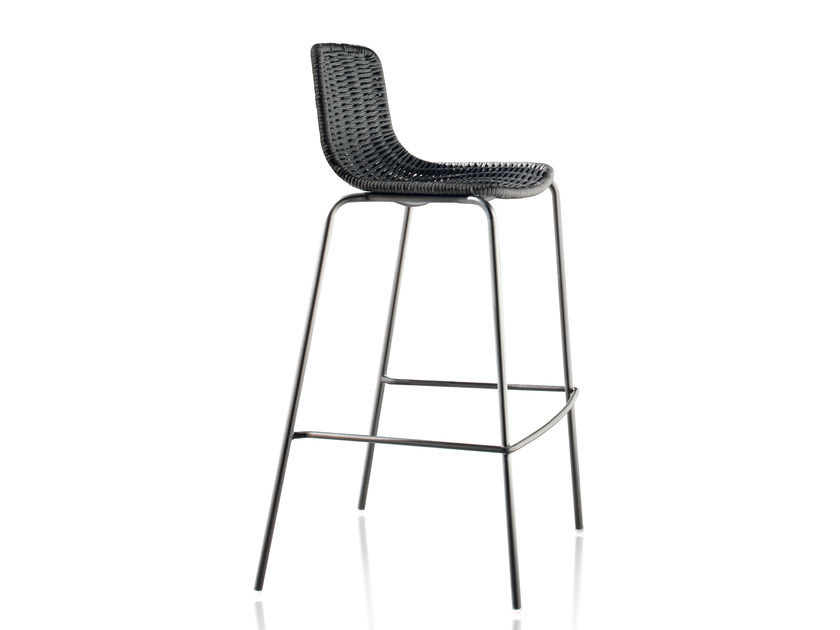 Stackable polyester garden chair LAPALA | Chair by EXPORMIM
