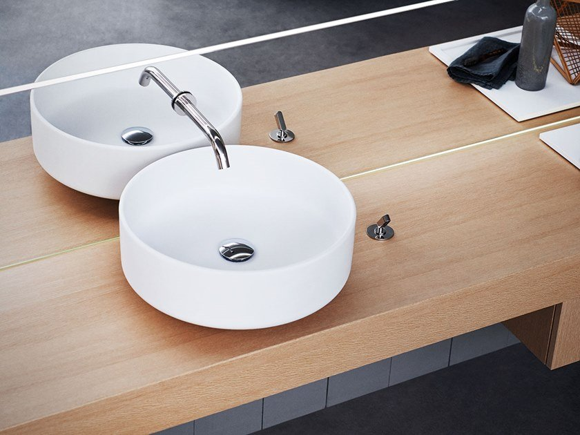 Countertop round washbasin BJHON 1 | Countertop washbasin by Agape