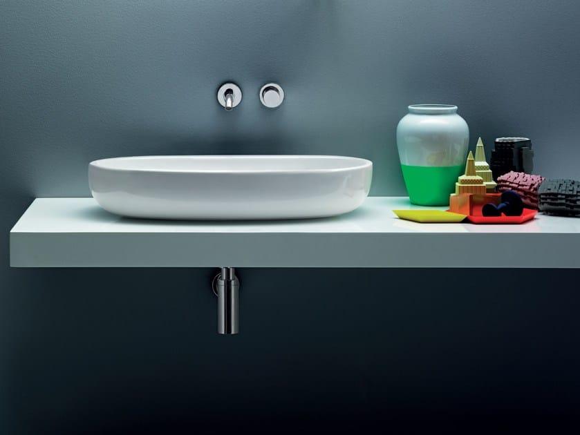 Countertop ceramic washbasin VERA | Countertop washbasin by AZZURRA sanitari