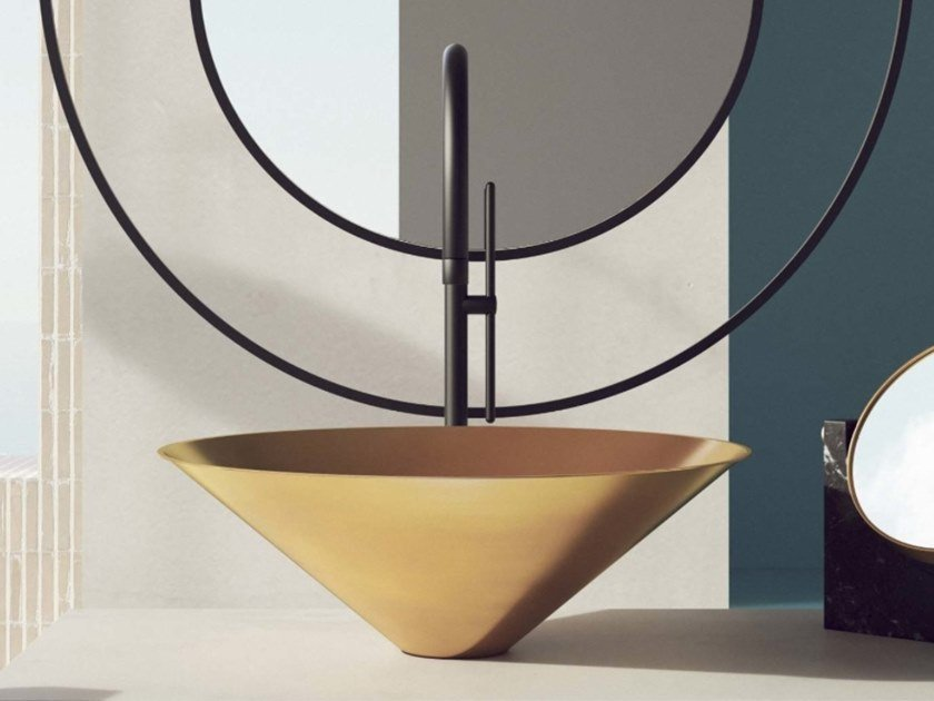 Countertop round washbasin LETO   Countertop washbasin by BASSINES