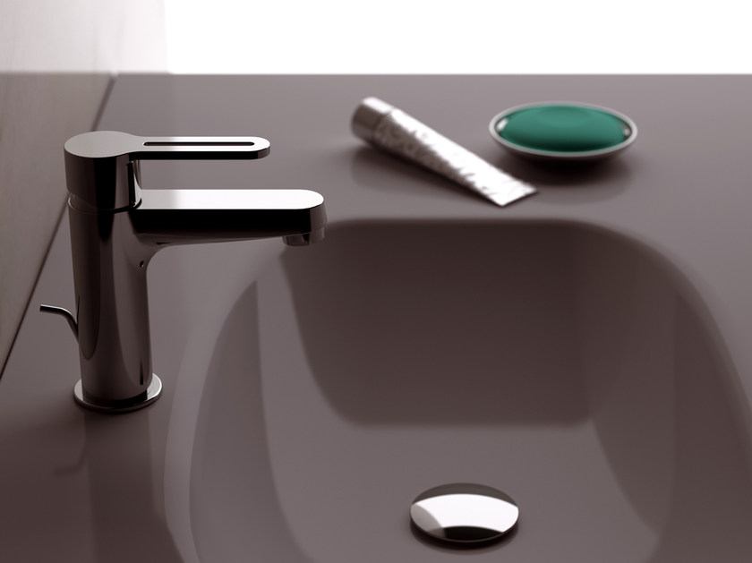 Countertop single handle washbasin mixer SMART | Countertop washbasin mixer by Daniel Rubinetterie