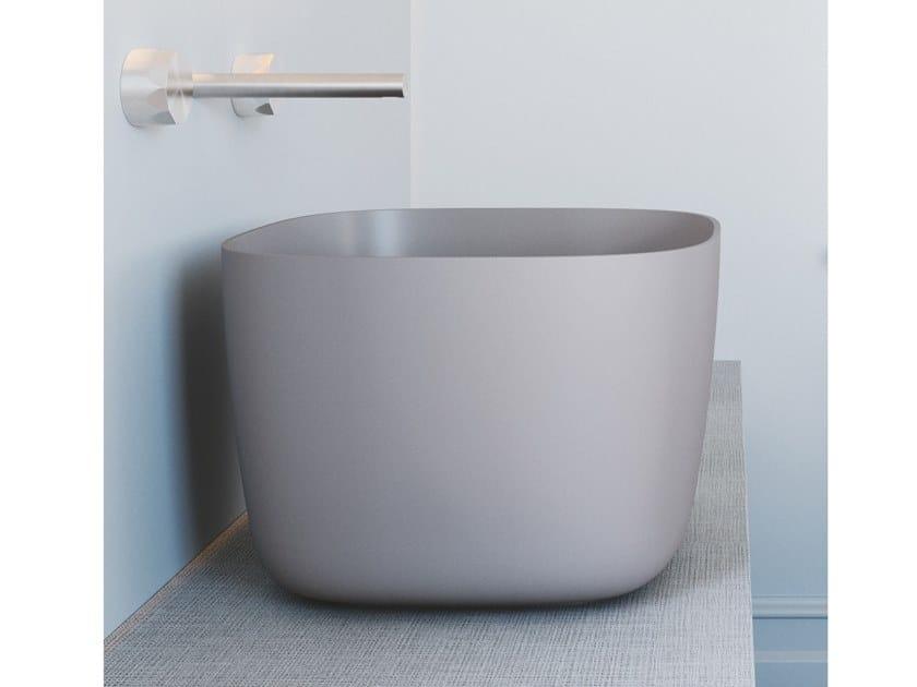 Countertop Solid Surface washbasin REVOLUTION® | Countertop washbasin by SDR CERAMICHE