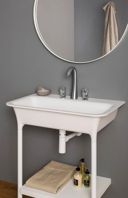NUDE | Rubinetto per lavabo da piano
