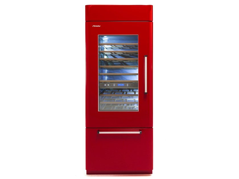 Wine cooler with glass door Class A COUNTRY 90 | Wine cooler by FHIABA