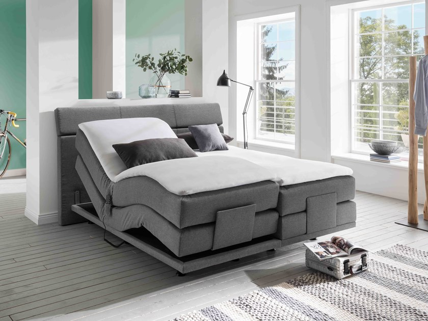 Upholstered recliner fabric bed COUTURE 4.0 CADEO by Femira