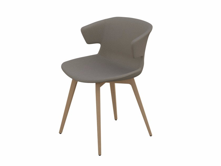 Polypropylene chair COVE | Chair by Quadrifoglio