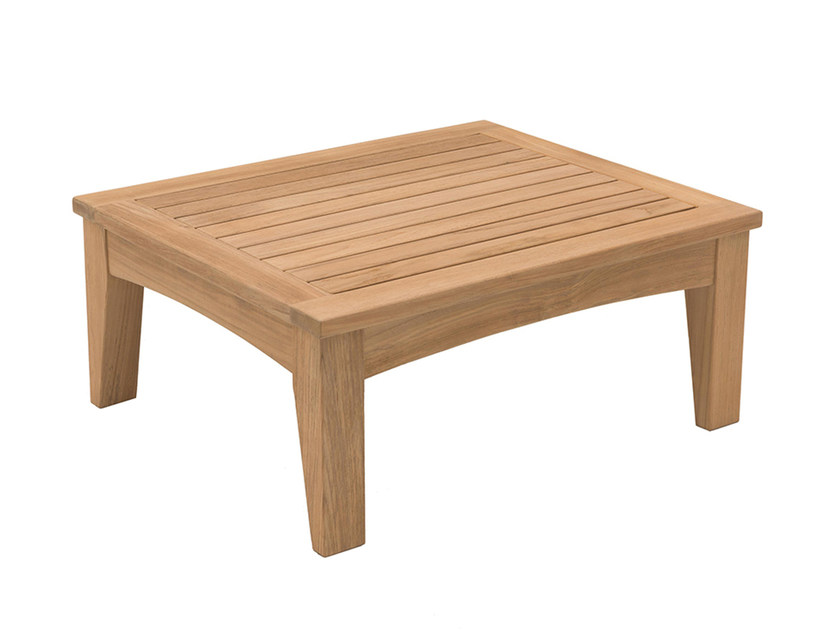 Low teak coffee table COVE | Low coffee table by INDIAN OCEAN