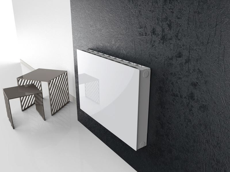 Hot-water wall-mounted die cast aluminium decorative radiator COVER by Radiatori 2000