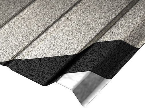 Metal sheet and panel for roof COVERIB 1000 by Ondulit Italiana