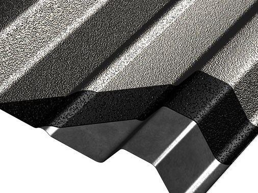 Metal sheet and panel for roof COVERIB 850 by Ondulit Italiana