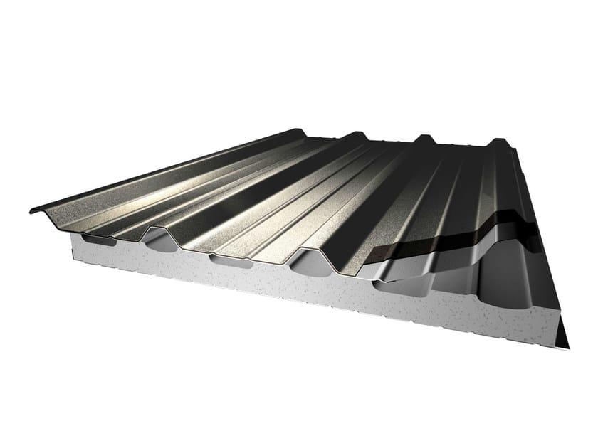 Pannello Metallico Coibentato Per Copertura In Acciaio Coverpiù