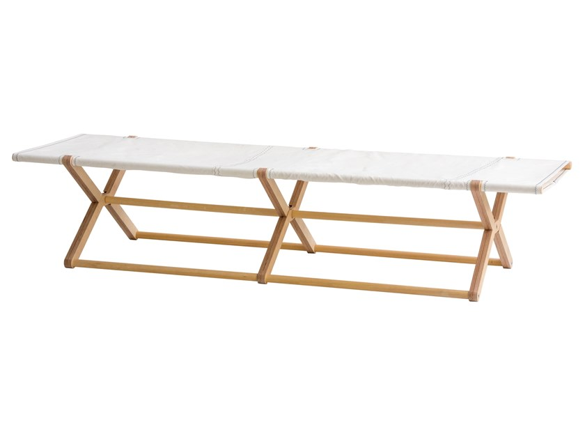 Folding recovered sail garden daybed COY by DVELAS