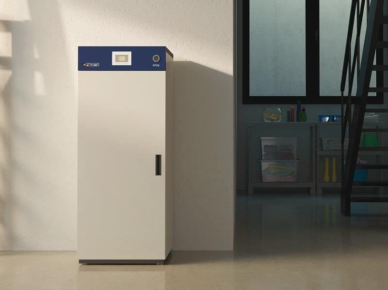 Pellet metal boiler CP 32 ACS by Piazzetta