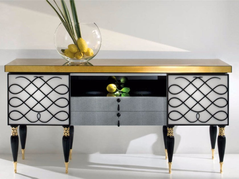 Lacquered sideboard with drawers CP188 | Sideboard by Rozzoni