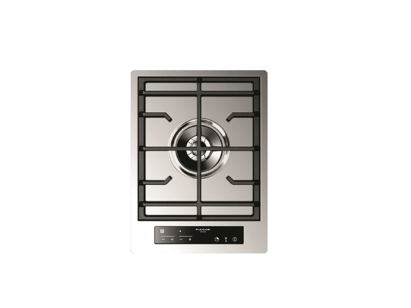 Gas single stainless steel hob CPH 401 GDWK TC X | Hob by Fulgor Milano