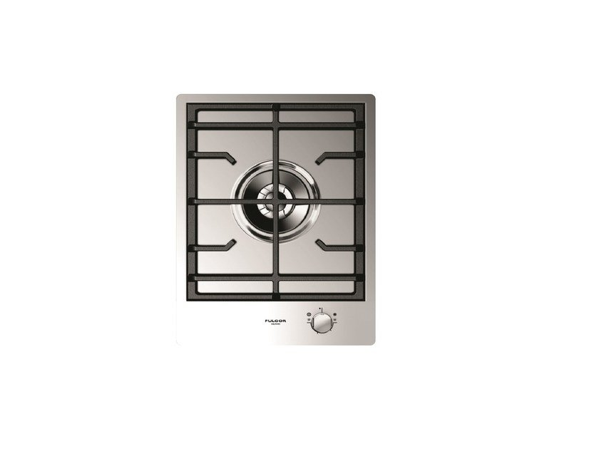 Gas single stainless steel hob CPH 401 GDWK X   Hob by Fulgor Milano